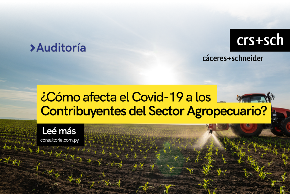 Disposiciones Tributarias para el Sector Agropecuario