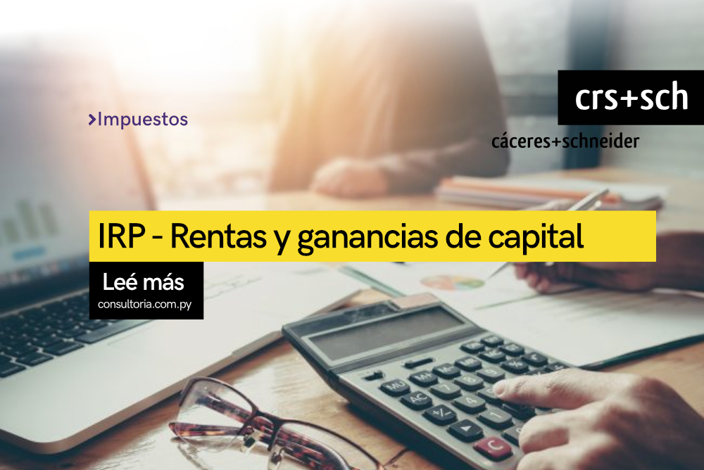 IRP Rentas y ganancia de capital
